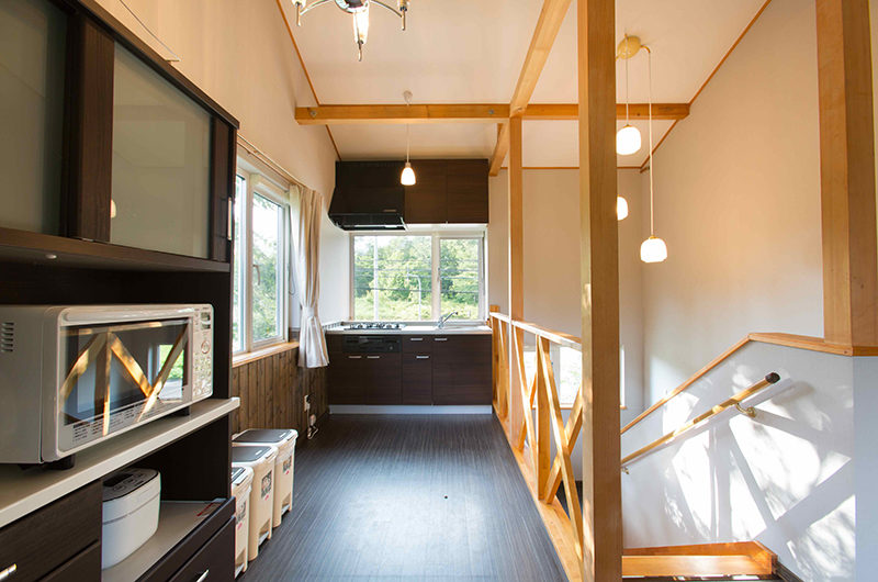 Swing Bridge House Up Stairs Kitchen | Higashiyama
