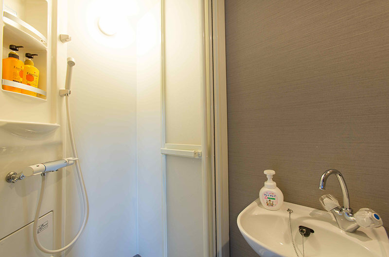Swing Bridge House Bathroom with Shower | Higashiyama