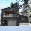 Phoenix Cocoon Outdoor View with Snow | Lower Wadano