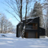 Phoenix Cocoon Outdoor Area with Snow and Trees | Lower Wadano