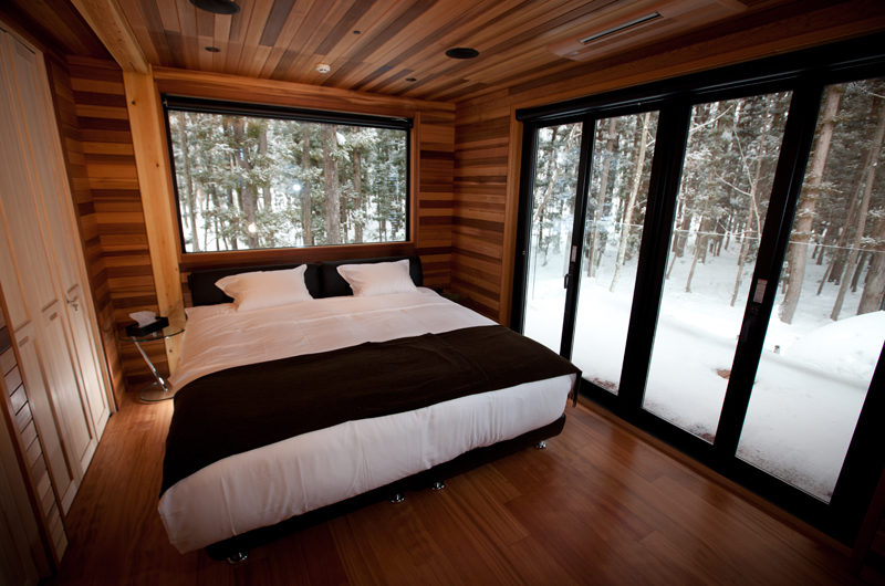 One Happo Bedroom with Outdoor Snow View | Happo Village