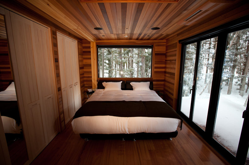 One Happo Bedroom with Wooden Floor | Happo Village