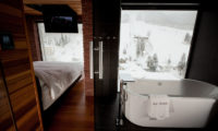 One Happo Bedroom and En-Suite Bathtub | Happo Village