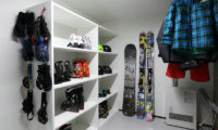 Hakuba Slopeside Chalet Indoor Drying Room | Tsugaike