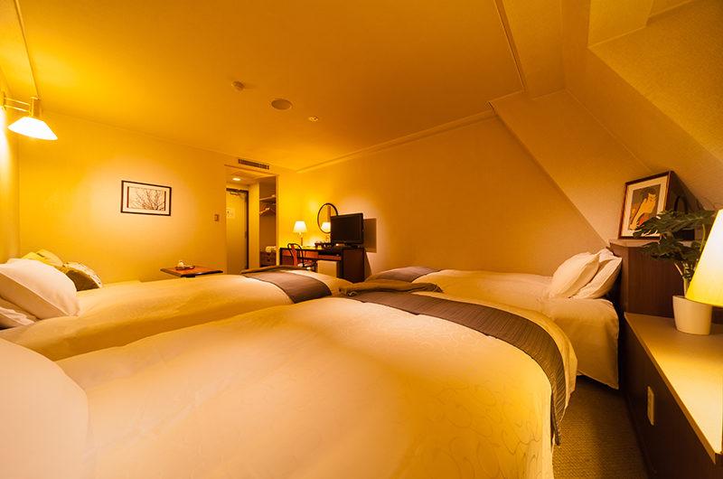 Hakuba Springs Hotel Deluxe Twin Plus Room   Happo Village