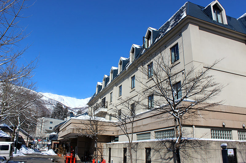 Hakuba Springs Hotel Outdoor View | Happo Village