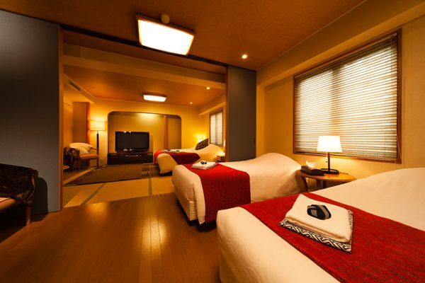 Hakuba Springs Hotel Family Suite with Wooden Floor | Happo Village