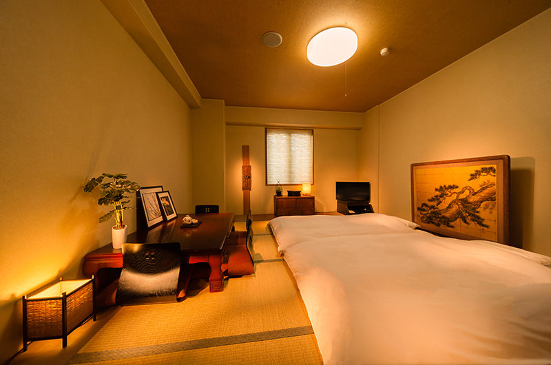 Hakuba Springs Hotel Japanese Tatami Futon Room | Happo Village
