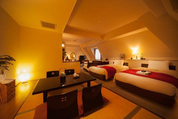 Hakuba Springs Hotel Junior Suite with Dining Area   Happo Village