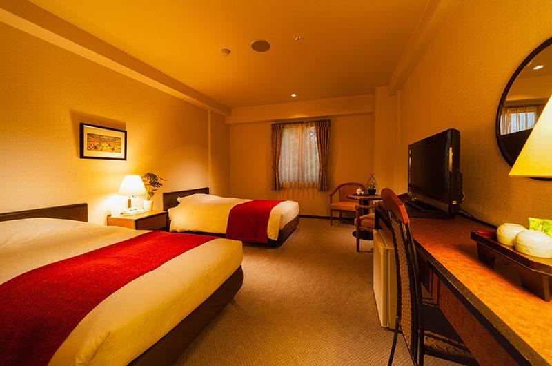 Hakuba Springs Hotel Standard Double Room   Happo Village