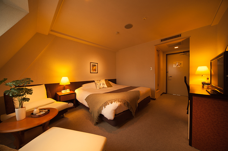 Hakuba Springs Hotel Superior King Room with TV | Happo Village