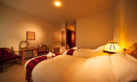 Marillen Hotel Twin Bedroom with Seating Area | Happo Village