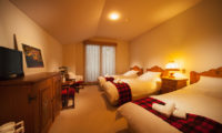 Marillen Hotel Triple Bedroom | Happo Village