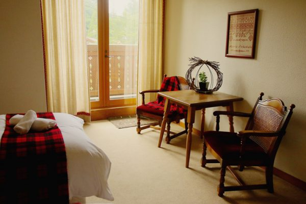 Marillen Hotel Bedroom with Balcony | Happo Village