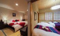 Luna Hotel Bedroom View | Upper Wadano