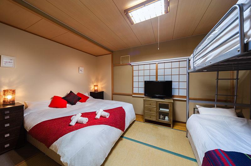 Luna Hotel Bedroom with Bunk Beds | Upper Wadano
