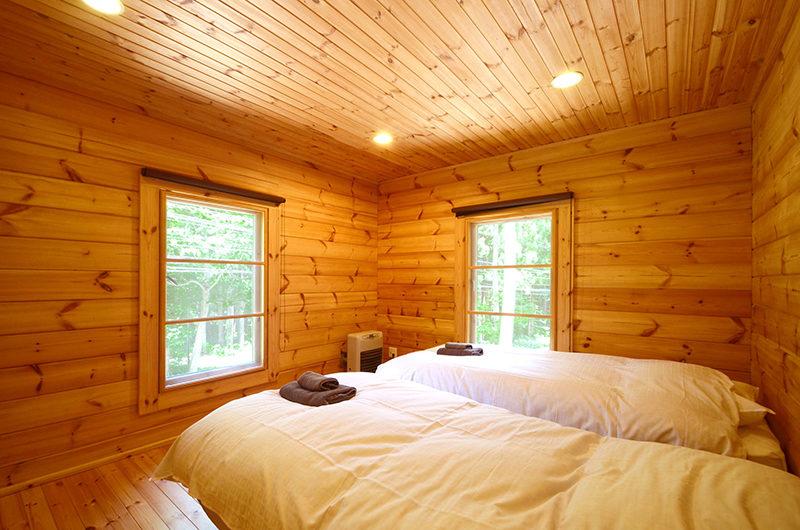 Maki Cottage Twin Bedroom | Lower Wadano