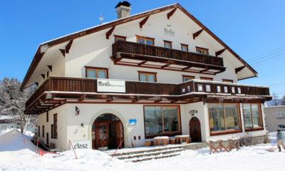 Marillen Hotel Outdoor View with Snow | Happo Village