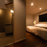 Phoenix Chalets Bedroom and En-Suite Bathroom   Lower Wadano