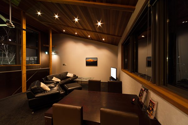 Phoenix Chalets TV Room | Lower Wadano