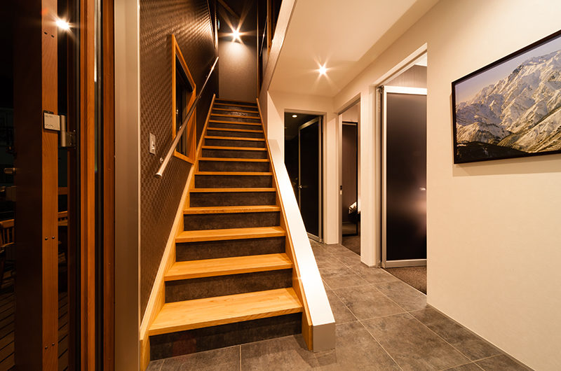Phoenix Chalets Up Stairs | Lower Wadano