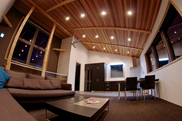 Phoenix Chalets Living and Dining Area | Lower Wadano