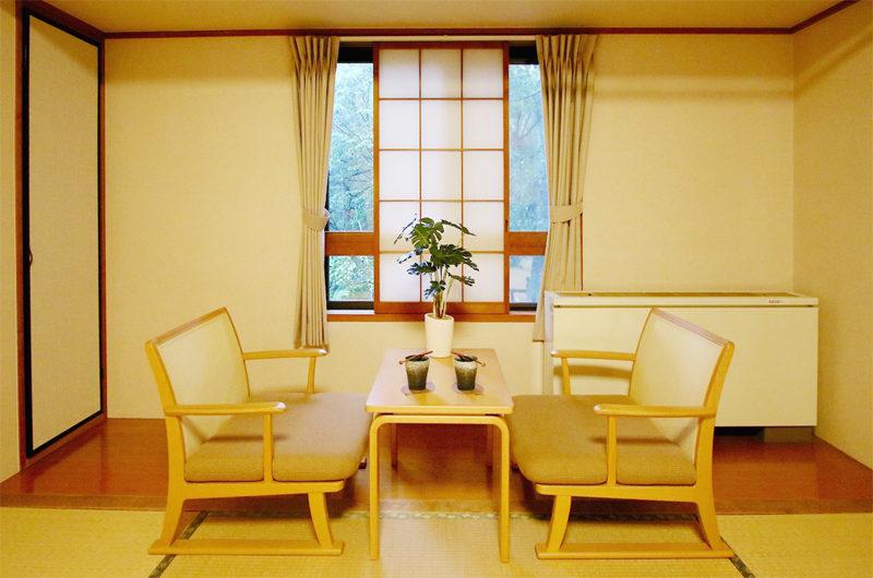 Phoenix Hotel Seating Area with Wooden Floor | Lower Wadano
