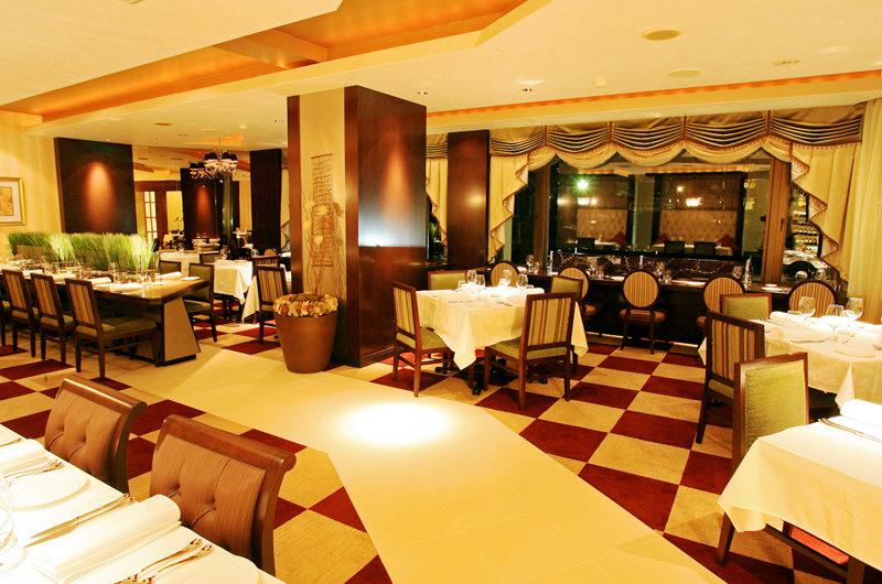 Phoenix Hotel Restaurant at Night | Lower Wadano