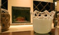 Phoenix Hotel Lobby Fireplace | Lower Wadano