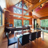 Phoenix One Dining Area with Wooden Floor | Lower Wadano
