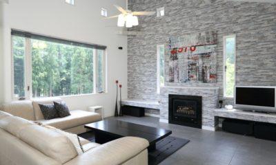 Powdersuites Living Area with TV | Goryu / Hakuba 47