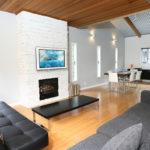 Powdersuites Living Area with Fireplace   Goryu / Hakuba 47