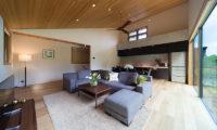 Solar Chalets Indoor Living Area | Upper Wadano