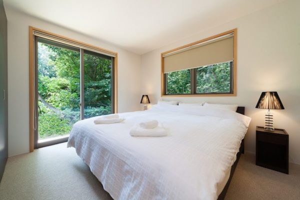 Solar Chalets Bedroom with View | Upper Wadano