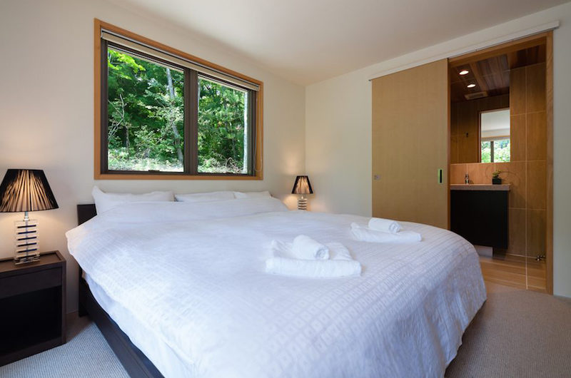 Solar Chalets Bedroom with Window | Upper Wadano