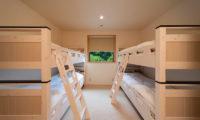 Solar Chalets Bunk Beds | Upper Wadano