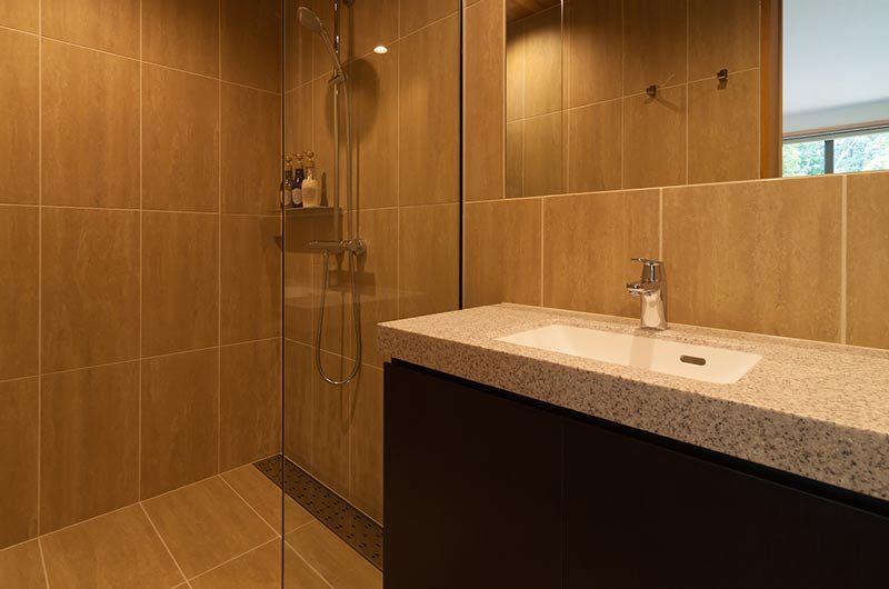 Solar Chalets Bathroom with Shower | Upper Wadano