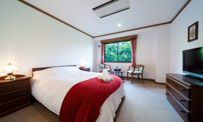 Wadano Forest Hotel Bedroom with TV | Upper Wadano