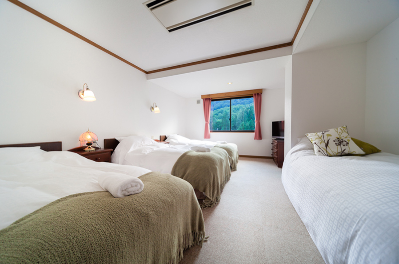 Wadano Forest Hotel Bedroom with Four Beds | Upper Wadano