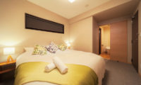 Wadano Woods Chalets Bedroom and Bathroom | Lower Wadano