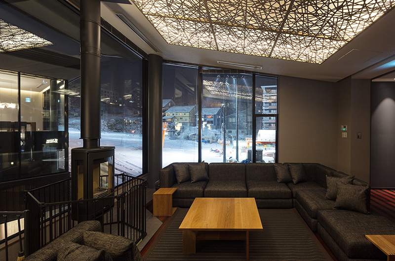 Aya Villas Lounge Area | Upper Hirafu Village