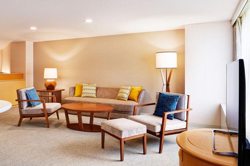 Westin Rusutsu Resort Seating Area with TV | Rusutsu