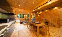 Wadano Woods Chalets Three Bedroom Chalets Dining Area | Lower Wadano