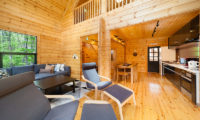 Wadano Woods Chalets Three Bedroom Chalets Living Area | Lower Wadano