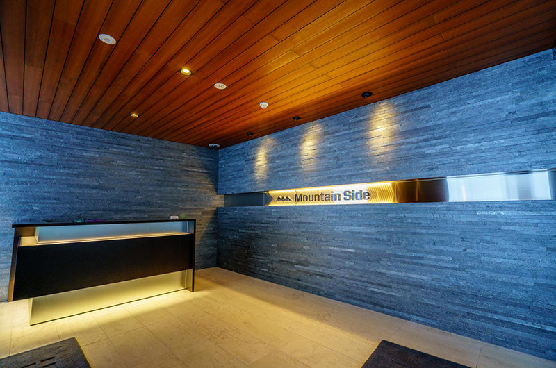 Mountain Side Reception at Entrance | Upper Wadano