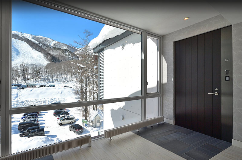 Mountain Side Outdoor View from Window | Upper Wadano