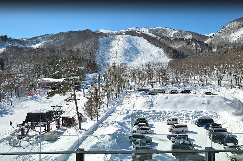 Mountain Side Outdoor Parking Area | Upper Wadano