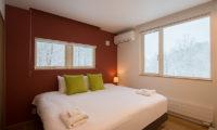 Chalet Luma Bedroom View | West Hirafu