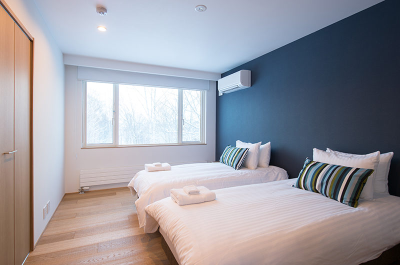 Chalet Luma Twin Bedroom | West Hirafu