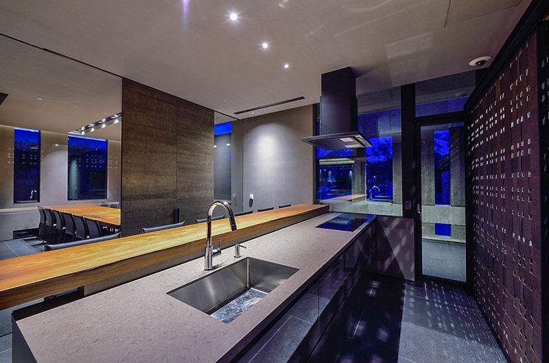 Ori Kitchen at Night | Lower Hirafu